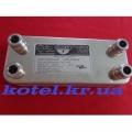 Теплообменник VAILLANT TURBOMAX PRO | PLUS ZILMET (14 пластин)