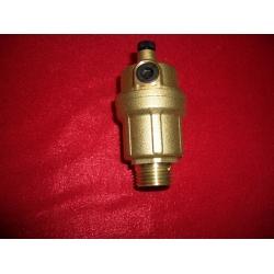 Автоматический воздушный клапан (10 bar, максимальная рабочая температура 115С подсоединение 1/2). Производитель CALEFFI Италия.
