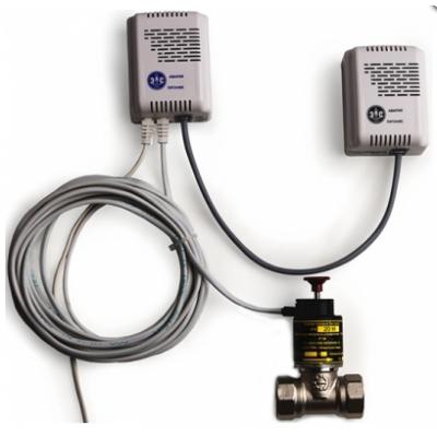 Сигнализатор газа бытовой (СГБ) КРИСТАЛЛ СКЗ-КРИСТАЛЛ 2 (СО+СН4)+КЛАПАН D15 - D20; без клапана