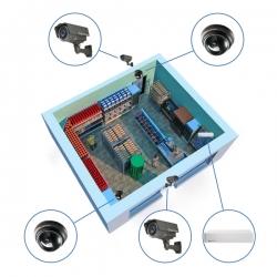 Комплект видеонаблюдения AHD для магазина на 4 камеры