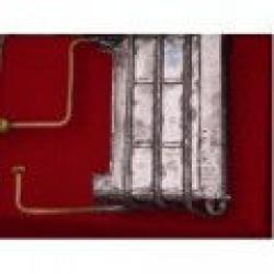 Теплообменник с гайкой газовой колонки SELENA