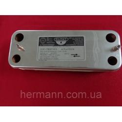 Теплообменник пластинчатый SAUNIER DUVAL THEMACLASSIC, ISOFAST, ISOTWIN, THEMACONDENS 16 пластин