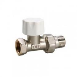 LUXOR DD 121 Клапан предварительной настройки 1/2 прямой нижний