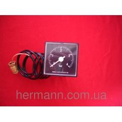 Манометр капиллярный 4 бар 45х45 мм, крепление 1/4 G