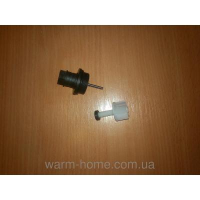 Ремкомплект гидроблока ZOOM BOILER MASTER / EXPERT, NOBEL, DEMRAD (турбина + крышка расходомера)