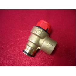 Предохранительный клапан (сбросной клапан) безопасности на 3 бара BERETTA CIAO 24 CAI/CSI, SMART, KOMPACT 14 RAI/RSI, BERETTA CIAO N 24/28 CAI/CSI, BERETTA CIAO NORD 24/28 CAI/CSI