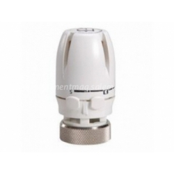 LUXOR кран с термоголовкой для радиатора
