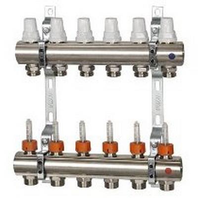 ICMA с расходомерами, регулировка ручная или терморегулирующая